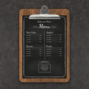menu customiztion